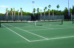 clay tennis court surface